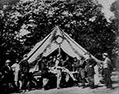 Amputation in Gettysburg